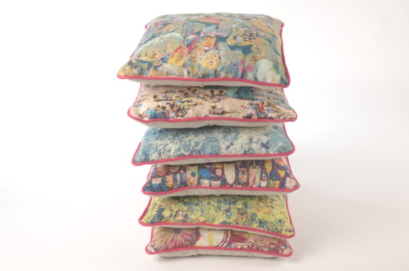 Tabitha Stewart Indiabilly shore series cushion stack low res